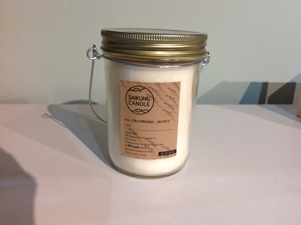 SCENTED CANDLE CRANBERRY HONEY 300ml