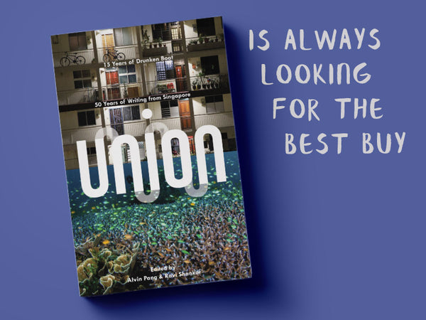 Get this for someone who is always looking for the best buy: Union, edited by Alvin Pang and Ravi Shankar