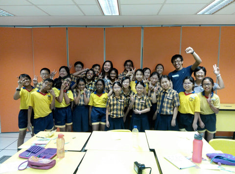 Creative Writing Workshop at Admiralty Primary