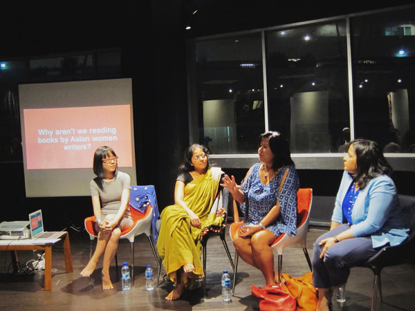 Meeting in the Middle: Asian Women in Focus discussion with Krishna Udayasankar, Noelle Q. de Jesus and Jinat Rehana Begum
