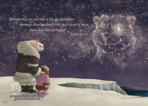 Eskimo Proverb (TPC 0015): Illustrated Greeting Card