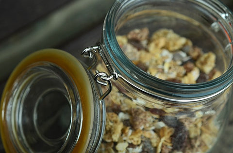 Raw home-made muesli