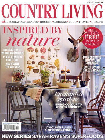 Country Living - January 2015