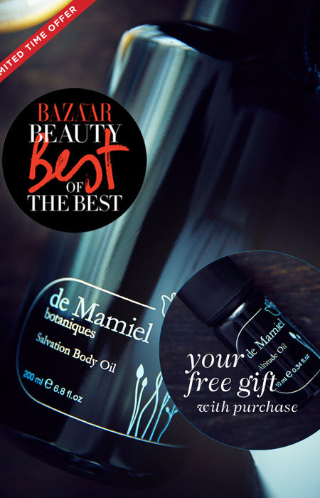 Harpers  Best  of  the  Best.....   Salvation Body Oil + Free Altitude Oil