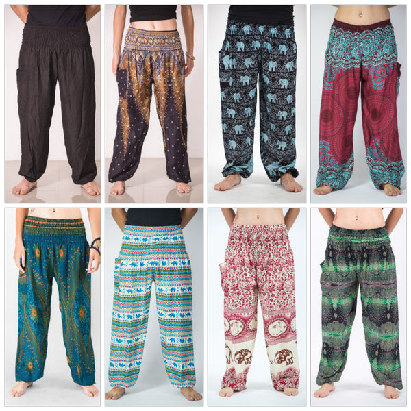 High Cut Thai Wholesale Harem Pants