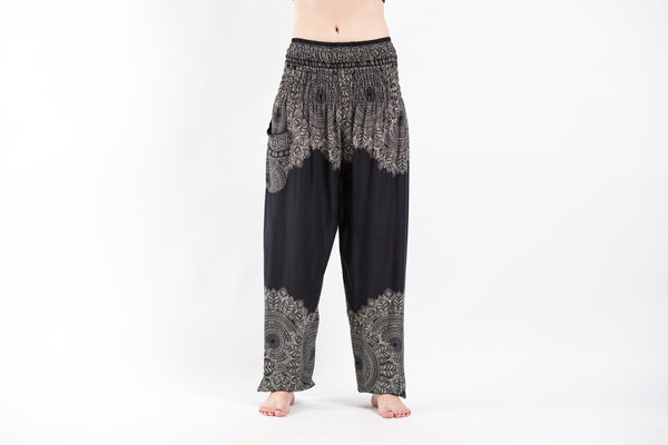 Awesome Floral PrintsThai Hill Tribe Fabric Womens Palazzo Pants  Harem