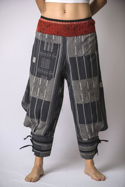 Thai Hill Tribe Fabric Women S Harem Pants With Ankle
