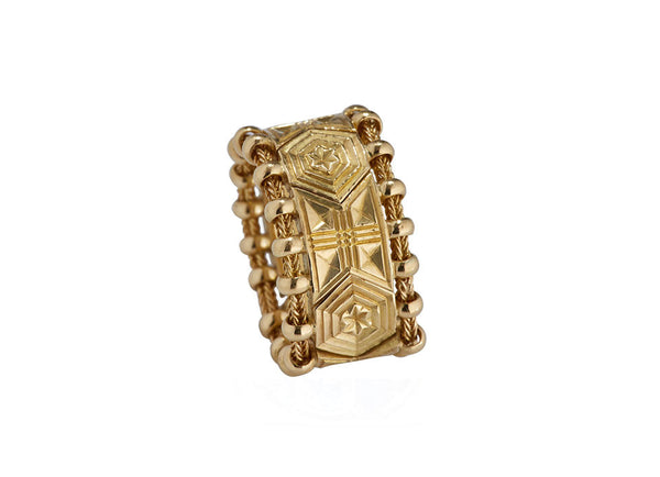 All Gold Agincourt Ring