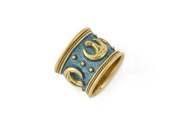 Virgo Zodiac Band Ring