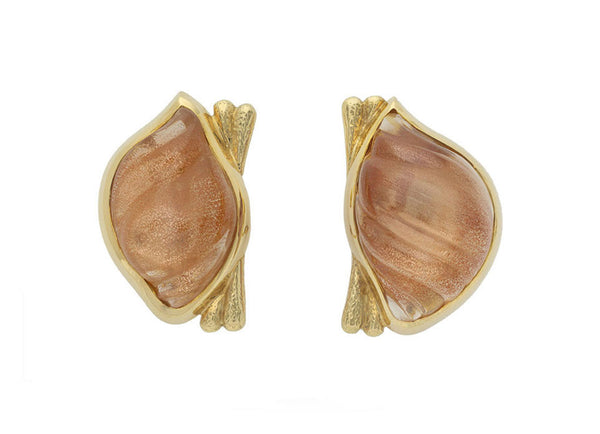 Sunstone shell cameos