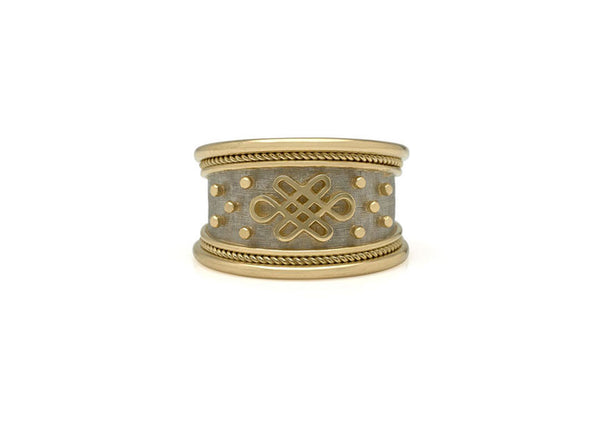 Eternal Knot Tapered Templar Ring