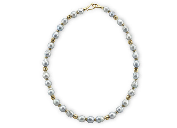 Silver South Sea Pearl Necklace