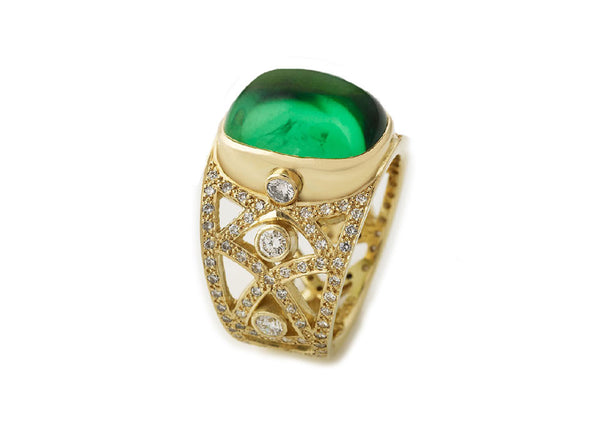 The Tourmaline Royal Ring