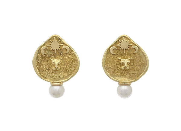 Zodiac shiraz earrings