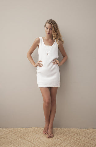 MATILDA DRESS - WHITE