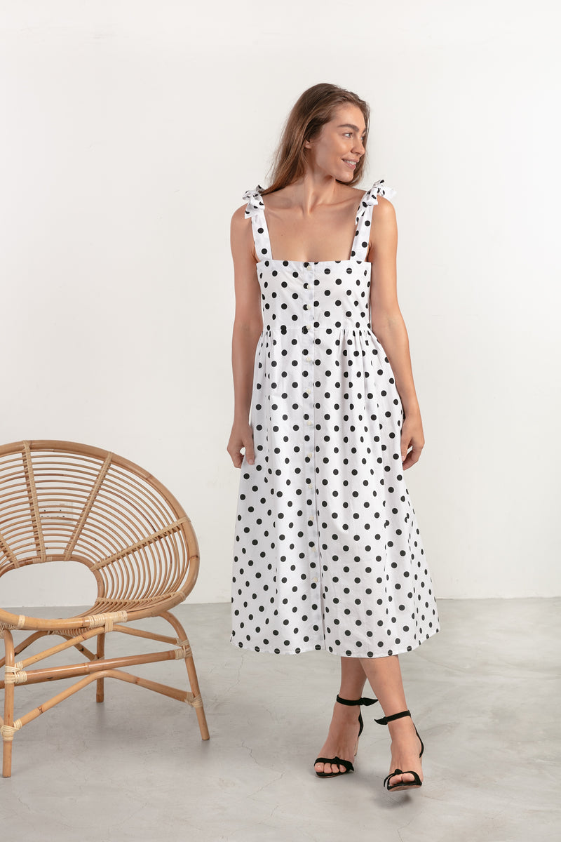 POPPY DRESS - POLKA DOT