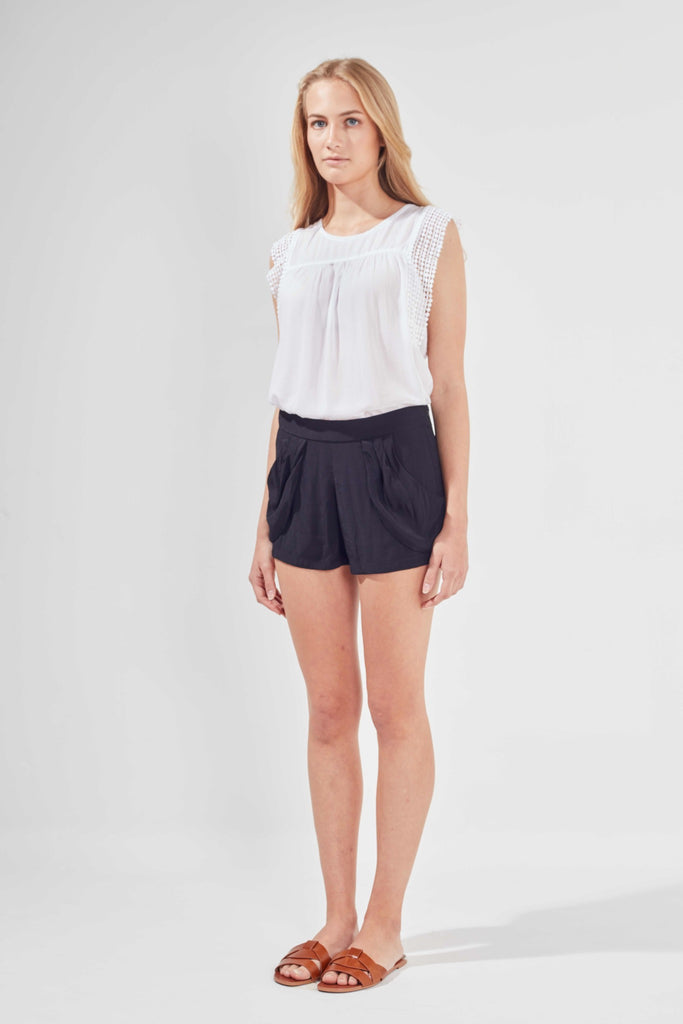 CLEMENTINE BLOUSE - WHITE