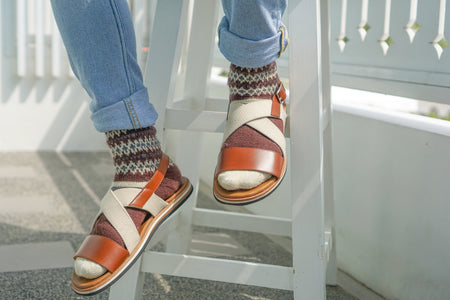 Why you can and should wear socks with sandals