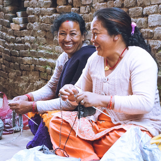 Support women's employment in Nepal.