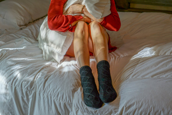 Wool Lounge Socks for Women