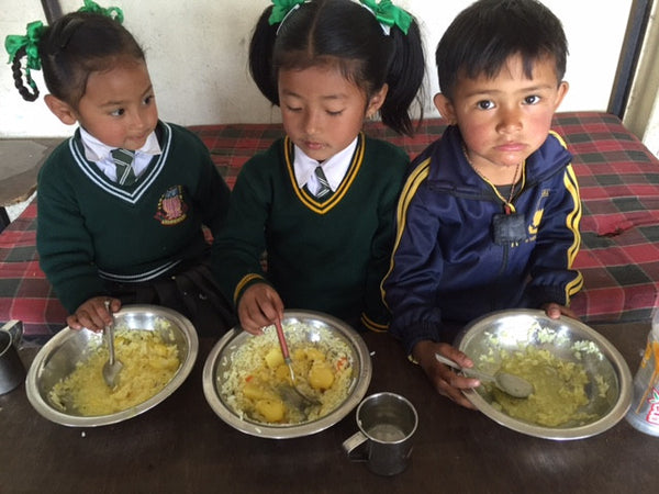 Tibetan Socks Lama Paljor School Lunch Program Charity