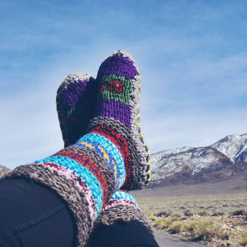 Death Valley Tibetan Socks