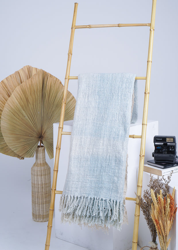 Sea Breeze Cotton Throw Blanket