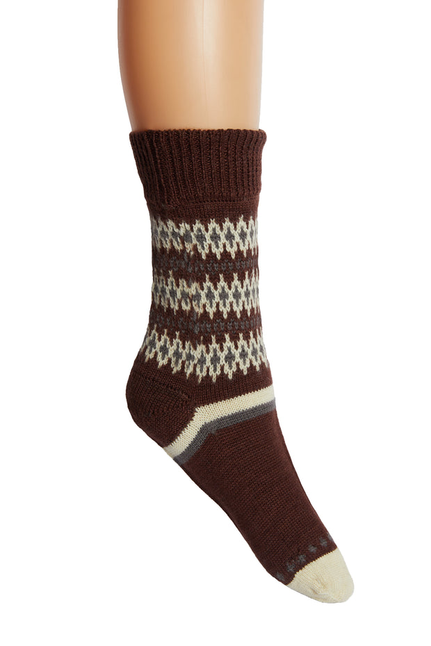 Hand Made 100% Fine Merino Wool Socks - Tibetan Socks