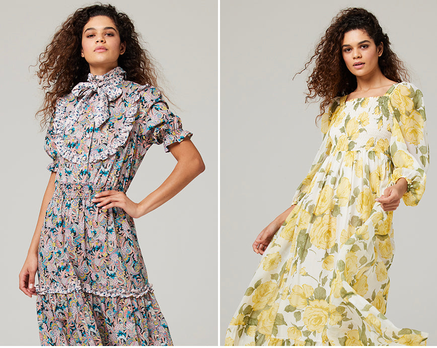 ridleylondon-luxurious-printed-floral-silk-maxi-dresses-made-to-measure