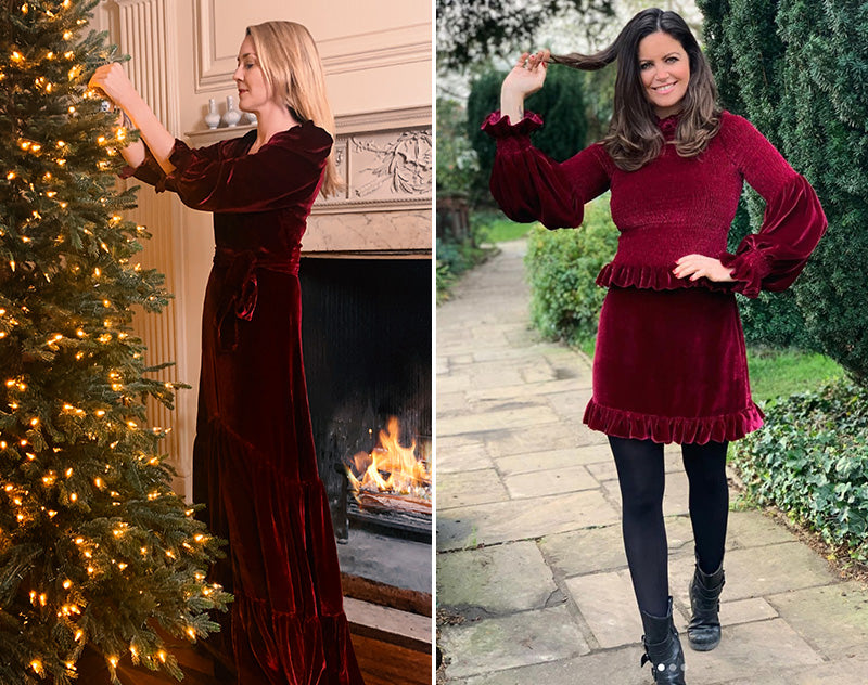 ridley-london-velvet-christmas-maxi-dress-@bowelbabe