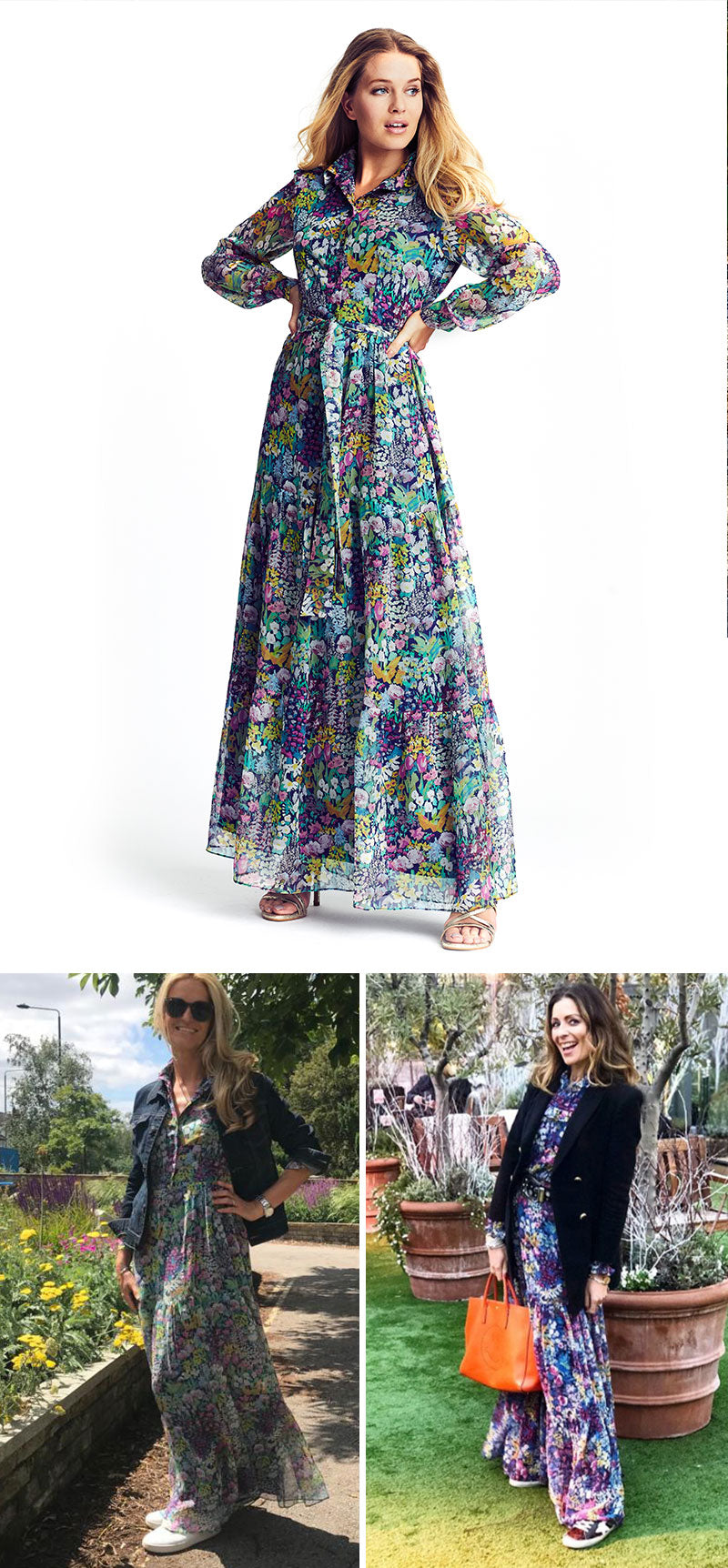 ridleylondon-bespoke-printed-floral-silk-maxi-shirt-dress