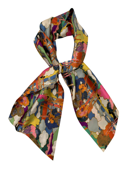 SILK SATIN SCARF