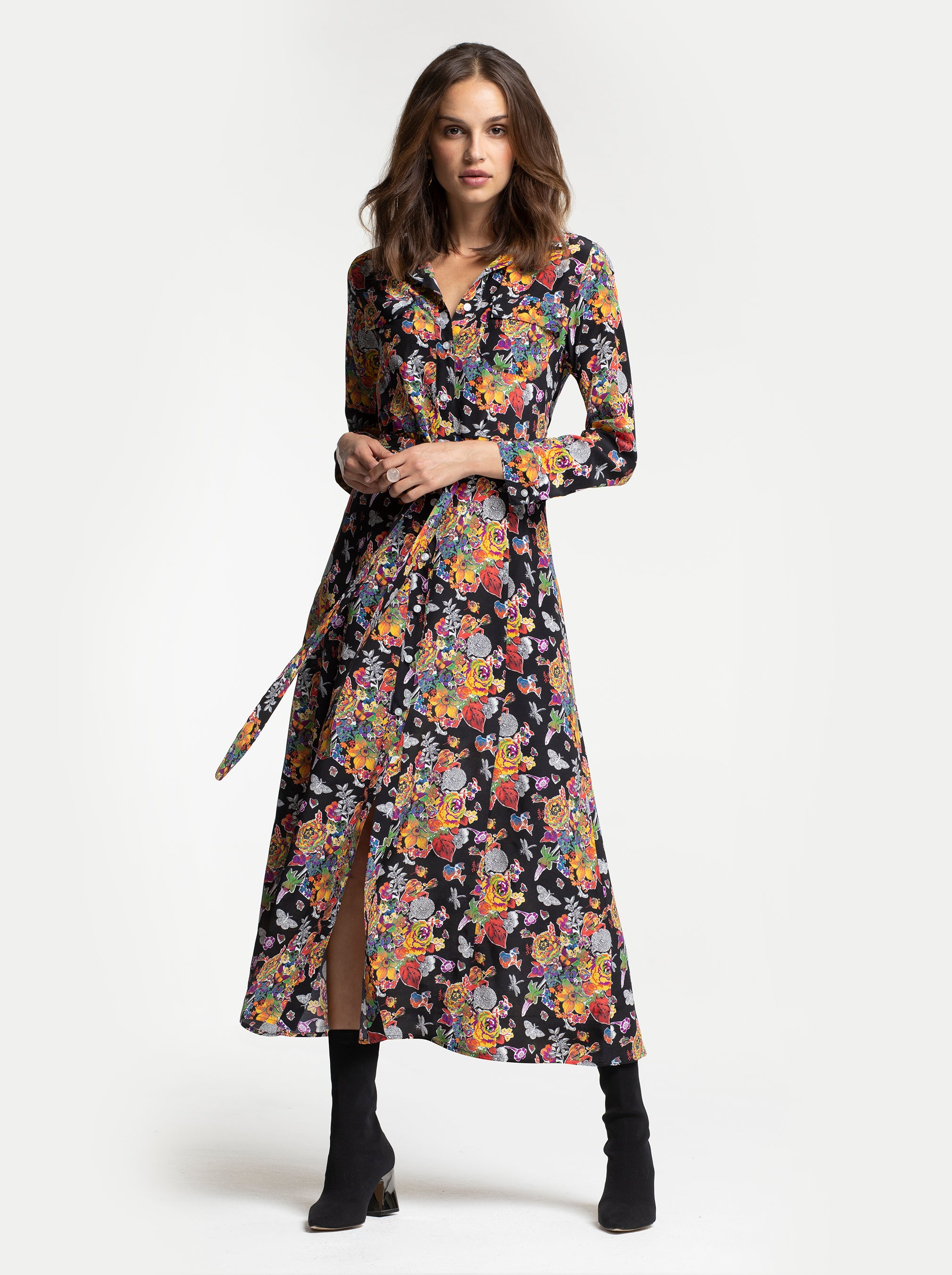 MILLY SHIRT DRESS