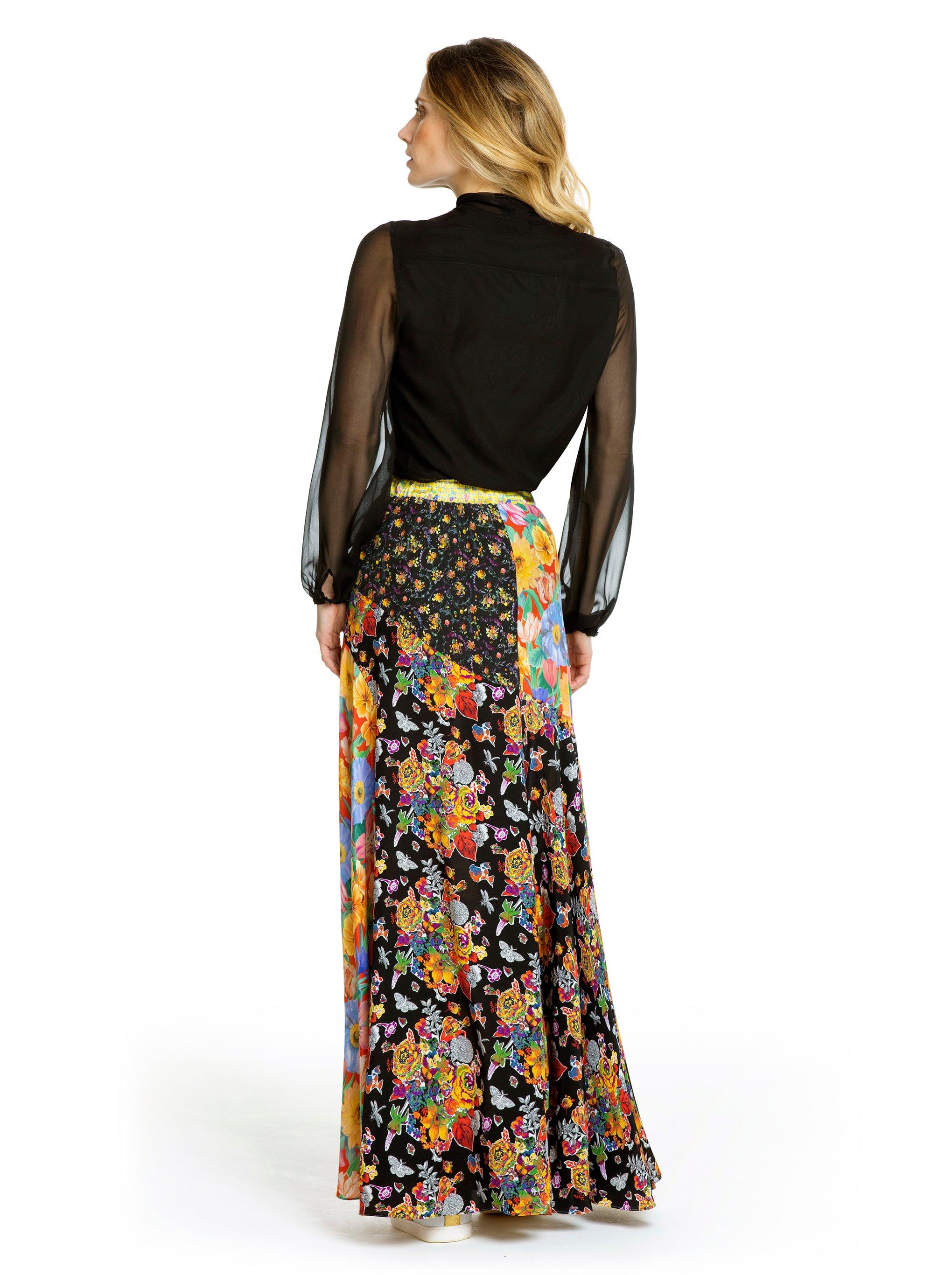 a95f8e032d MELODY KALEIDOSCOPE MAXI SKIRT – Ridley London