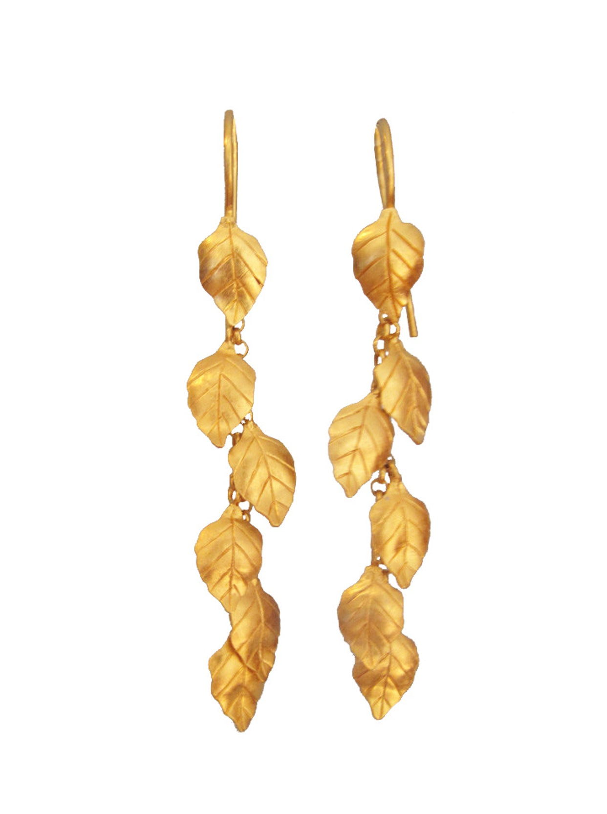 SUMMER LEAF EARRINGS