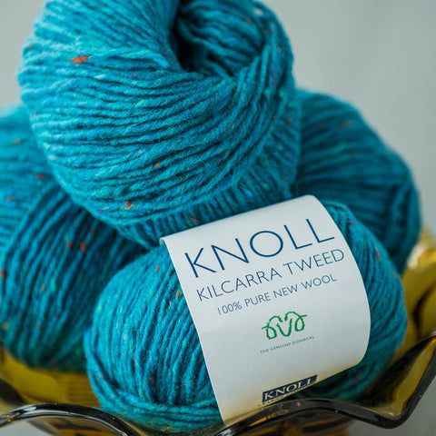 Kilcarra Tweed Simple Knits - Books and Yarn Bundle
