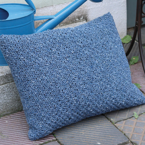 Square Knitted Cushion Cover