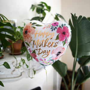 Ballon Happy Mother's day flowers