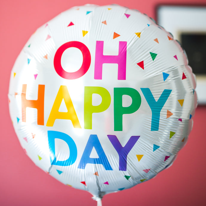Ballon OH HAPPY DAY