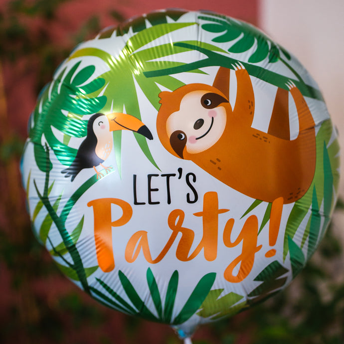 Ballon Let's Party Jungle