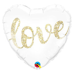 Ballon Coeur Love Gold