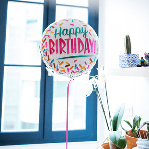 Mieux Que Des Fleurs Ballon Happy Birthday Party