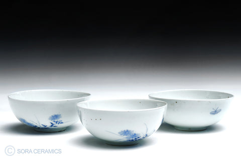 Hirado rice bowl set
