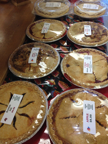 "In-store Pick Up Only...Pies.  Please specify pick up date in the ""Gift Note or Special Instructions"" box, once you clicked ""Add to Cart""."