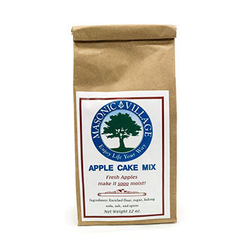 Masonic Village Apple Cake Mix