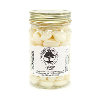 Masonic Village Pickled Garlic