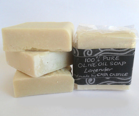 Lavender Olive Oil Soap Bar, Casa Castile, Soap- The Wild Coast Trading Company