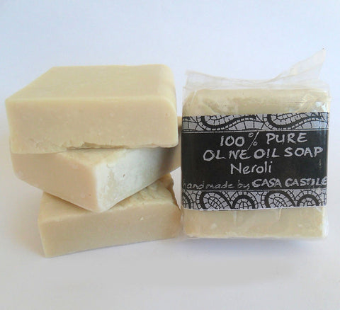 Neroli Olive Oil Soap Bar, Casa Castile, Soap- The Wild Coast Trading Company