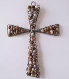 Crosses - African Beaded Wire Sculptures, Clever Wire, Crosses- The Wild Coast Trading Company