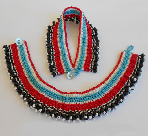 Traditional Xhosa Anklets, Iza Crafts, Anklets- The Wild Coast Trading Company